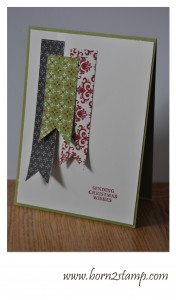 Stampin' UP! Joyous Celebrations DSP Festival of Prints