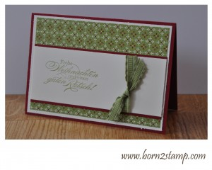 Stampin' UP! Ein duftes Dutzend DSP Festival of Prints