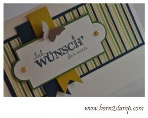 Stampin' UP! Geburtstagswunsch Essentials DSP Papier-Träume Stanze Mini-Schmetterling Big Shot Nostalgische Etiketten