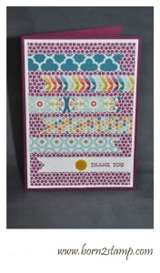Stampin' UP! Essentials SAB DSP Bunter Basar