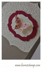 Stampin' UP! Papillon Potpourri Ein duftes Dutzend Stanze Eleganter Schmetterling Big Shot Rahmenkollektion Big Shot Vintage Tapete