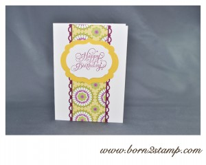 Stampin' UP! Beautiful Birthday