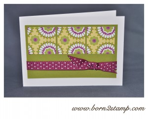 Stampin' UP! DSP Blumeninsel