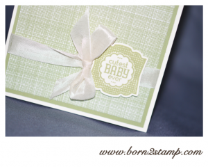 Stampin' UP! Gartenparty Label Love