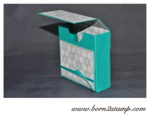 Stampin' UP! Box mit DSP im Block Eiszauber
