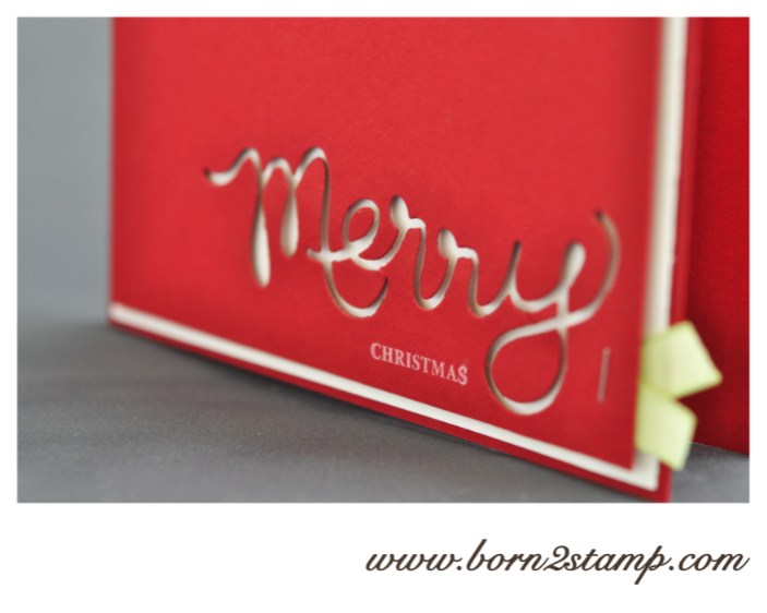die erste weihnachtskarte born2stamp heike vass. Black Bedroom Furniture Sets. Home Design Ideas