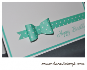 Stampin' UP! Geburtstagskarte mit Memorable Moments