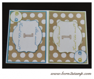 Elefantenparty Einladungskarte