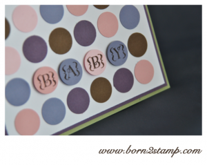 Stampin' UP! Babykarte mit Occasions Alpha