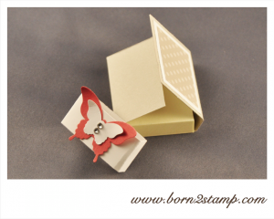 Stampin' UP! Post its mit dem Eleganten Schmetterling