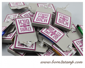 STAMPIN' UP! Goodies mit Wimpeleien