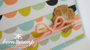 STAMPIN' UP! Karte mit SAB Sweet Sorbets und Perfectly Penned