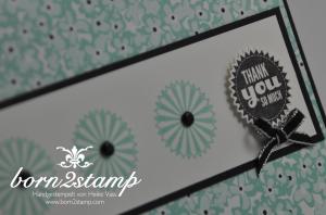 STAMPIN' UP! Dankeskarte mit Starburst Sayings und SAB Sweet Sorbets