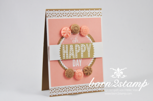 STAMPIN' UP! Karte mit Starburst Sayings
