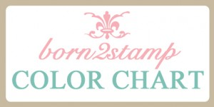 born2stamp color chart