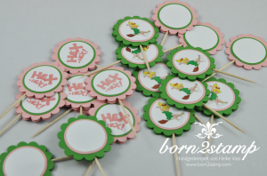 STAMPIN' UP! Bibi Blocksberg Party Muffin Piekser