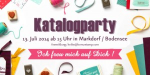 STAMPIN' UP! Katalogparty in Markdorf