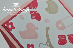 STAMPIN' UP! Karte mit Something for Baby