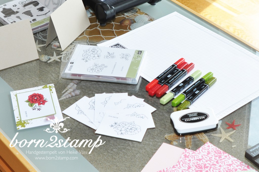 STAMPIN' UP! Katalogparty born2stamp Mix Marker Station