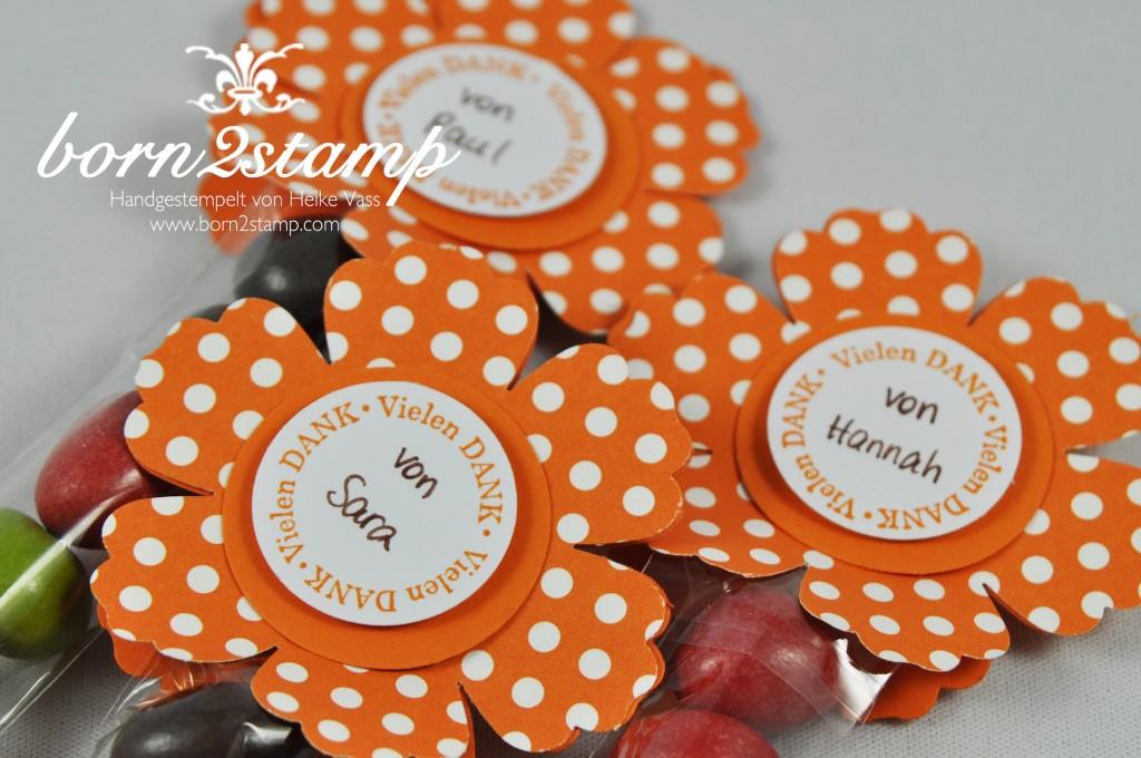 STAMPIN' UP! Geschenkset Label Love Stanze Edles Etikett Gewellte Anhängerstanze Blumenstanze Kreisstanze DSP Satinband