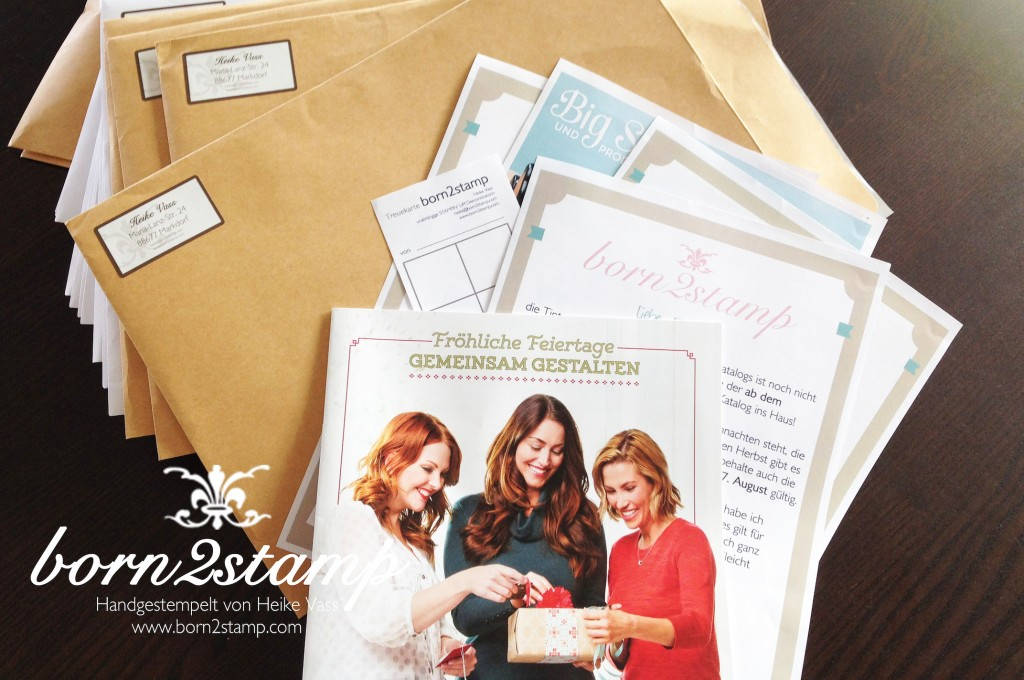 STAMPIN' UP! Herbst-Winterkatalog 2014 on the road