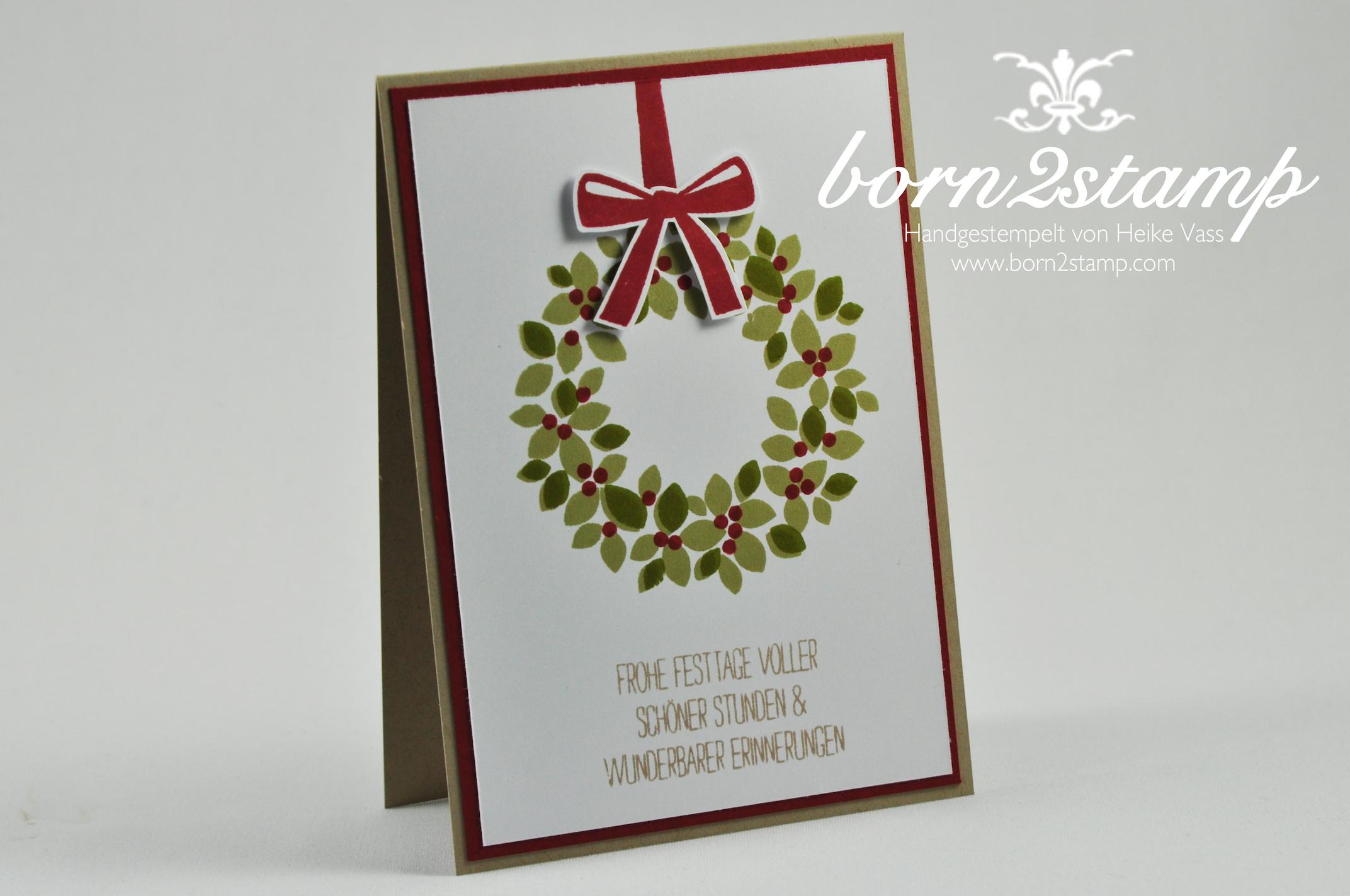 christmas in august erste weihnachtskarten born2stamp heike vass. Black Bedroom Furniture Sets. Home Design Ideas