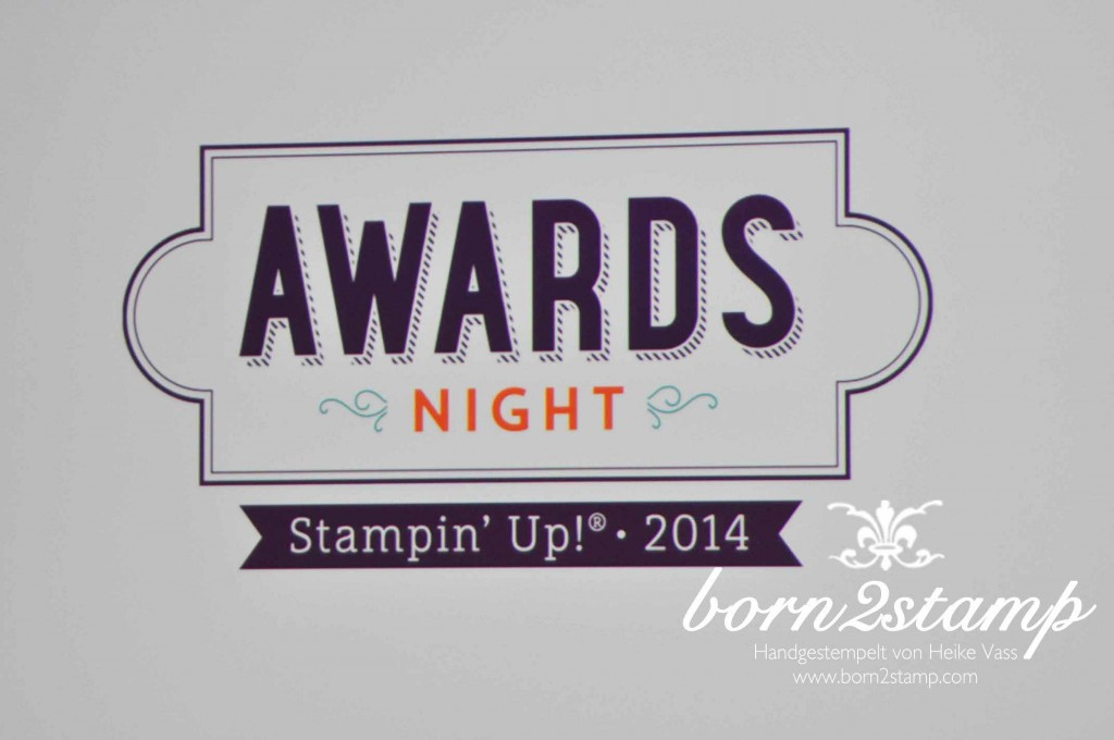 STAMPIN' UP! Convention in Bruessel Praemienabend