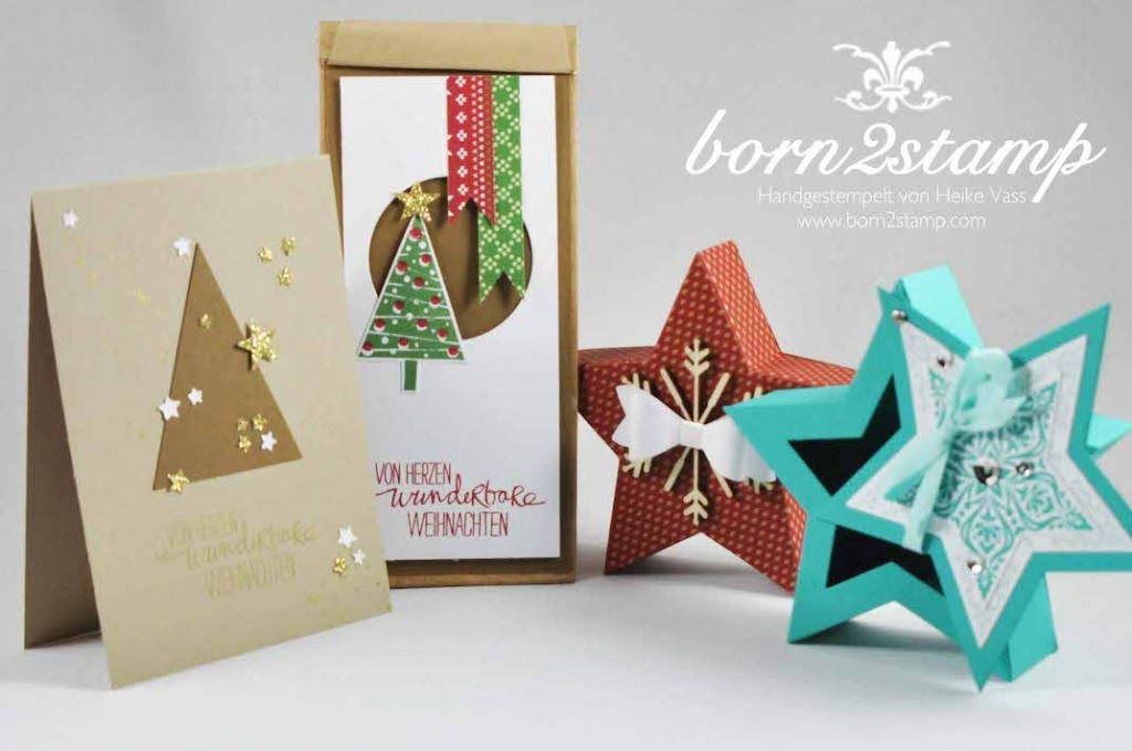 STAMPIN' UP! born2stamp Weihnachtsworkshop