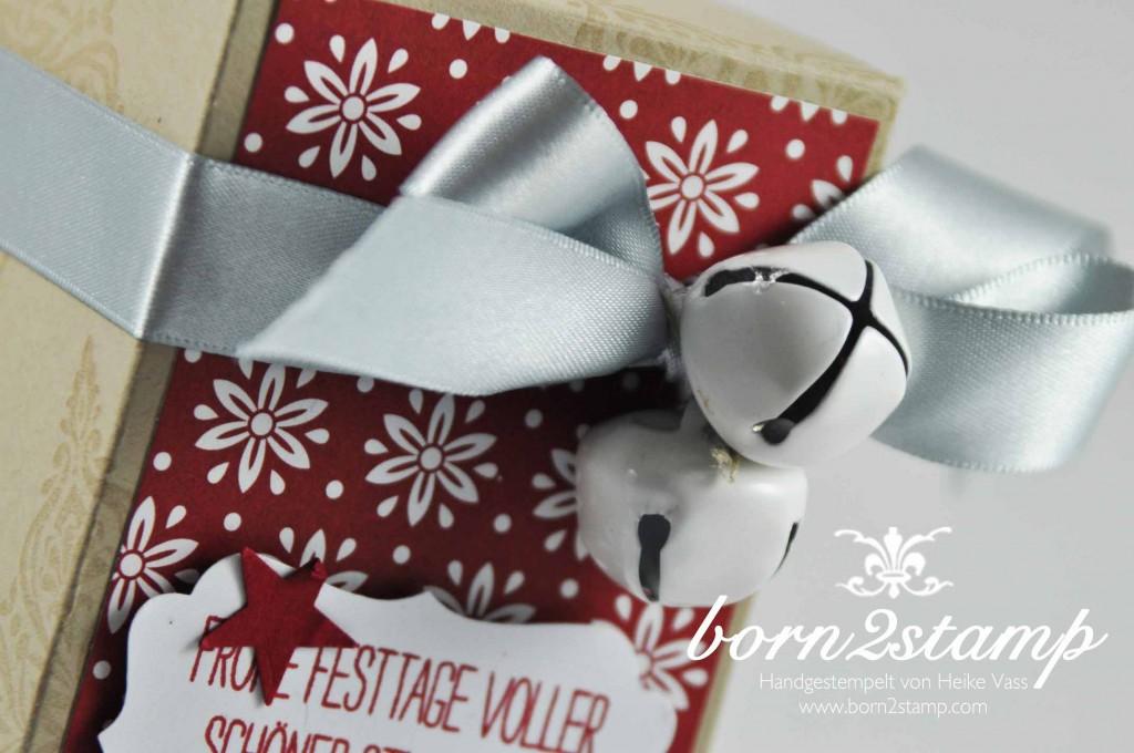 STAMPIN' UP! born2stamp DSP Stille Nacht DSP Festlich geschmueckt Willkommen Weihnacht Itty bitty Akzente Dekoratives Etikett