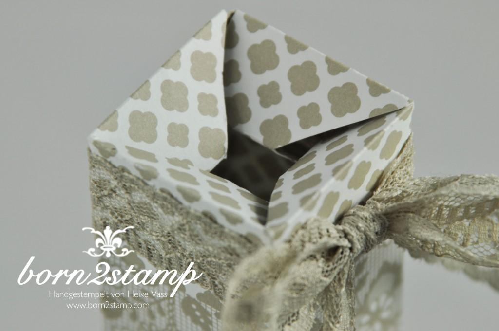 STAMPIN' UP! born2stamp Teleskopbox DSP Trau Dich Butterfly Framelits Spitzenband Kreativ-Set Accessoires