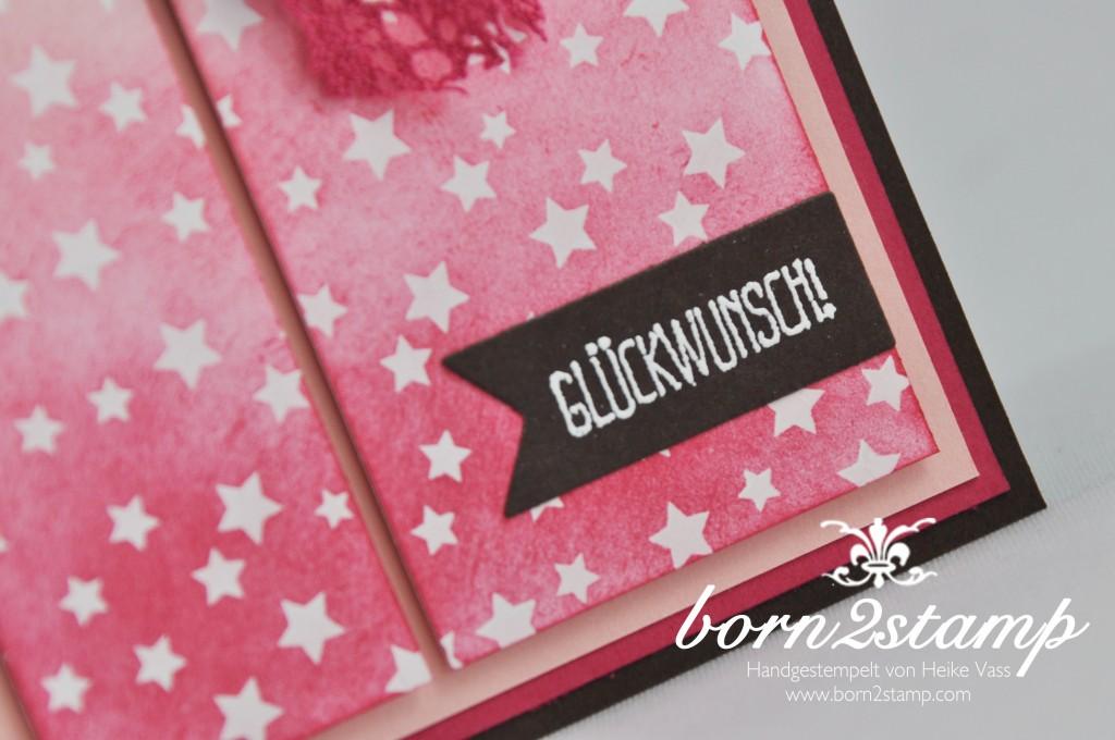 STAMPIN' UP! born2stamp Babykarte Spruch-reif Mein Lichtblick Kreativ-Set Accessoires Framelits Stern-Kollektion DSP Zauberhaft