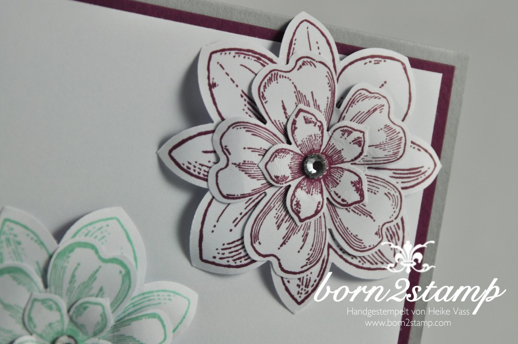 STAMPIN' UP! born2stamp Petal Potpourri Flower Shop Petite Petals Best day ever 3