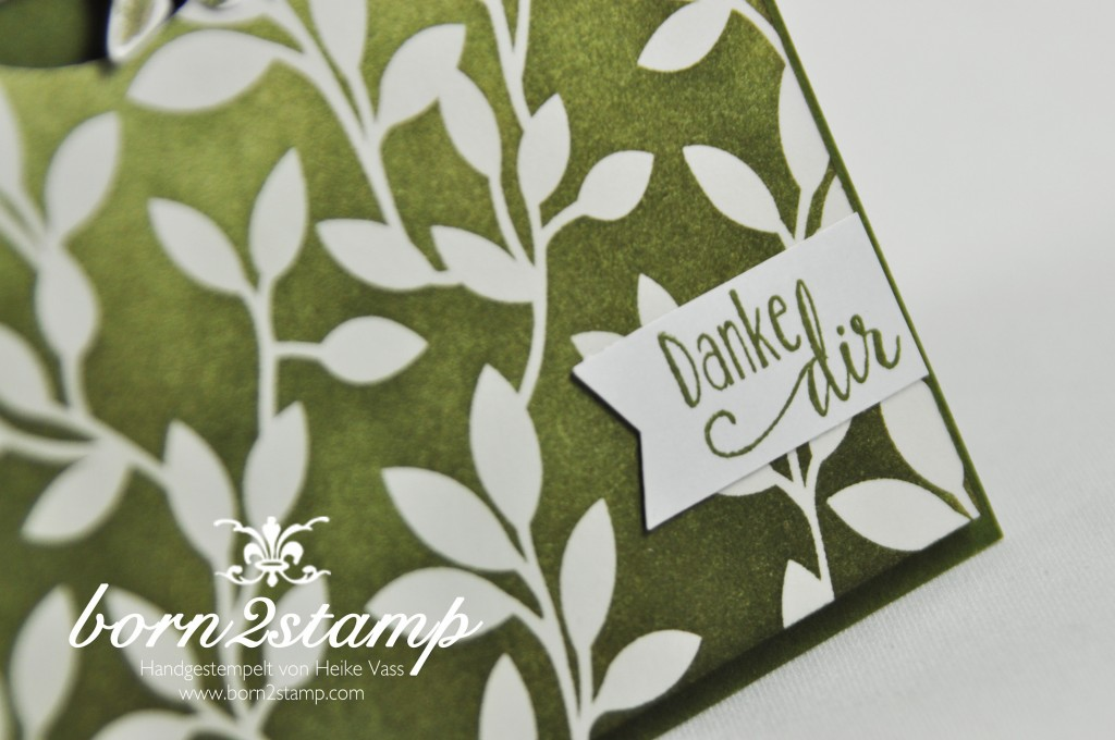 STAMPIN' UP! born2stamp - Sale a bration - SAB - DSP Zauberhaft - Lotus blossom - So froh - InColor Accessoire - Faehnchenstanze