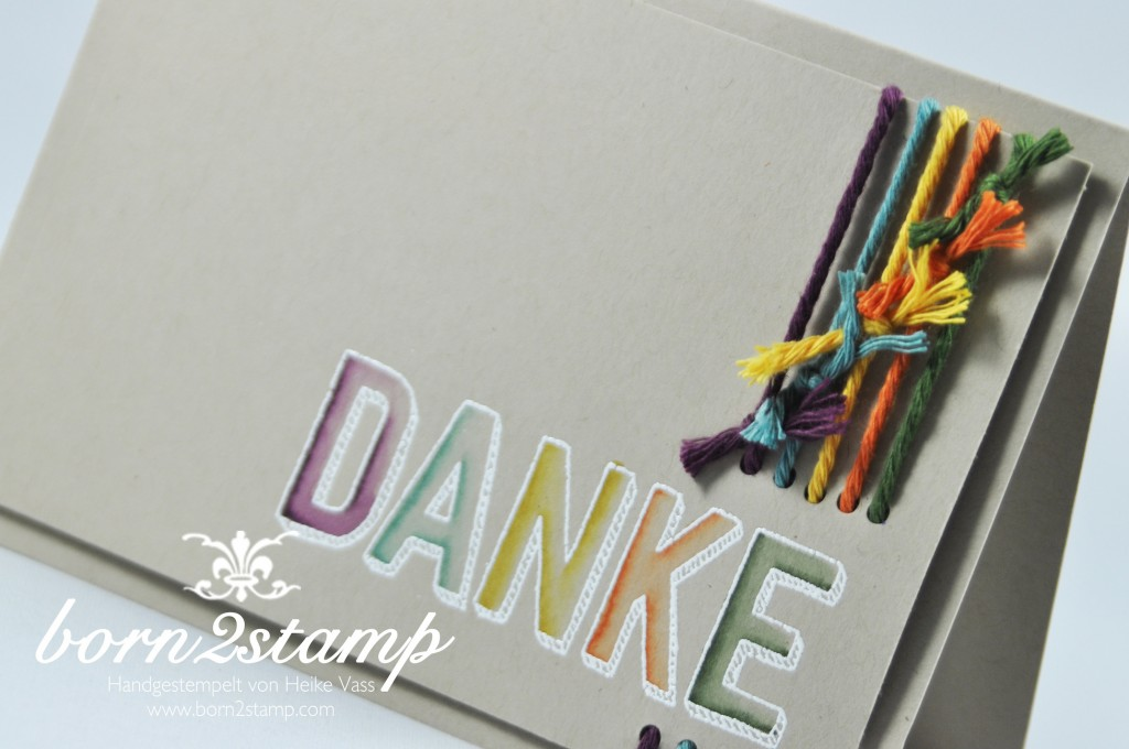 STAMPIN' UP! born2stamp Sale-a-bration SAB Dankbar fuer Dich InColor Zubehörpaket AquaPainter