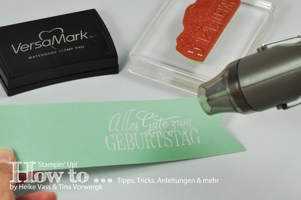 How to... Embossing