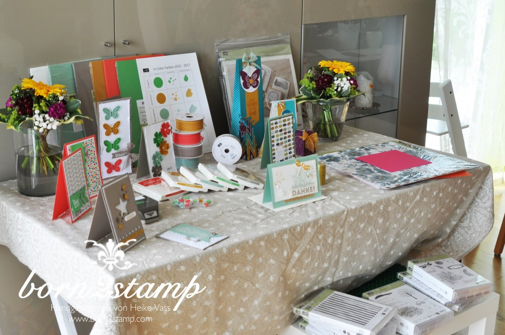 STAMPIN' UP! born2stamp Katalogparty