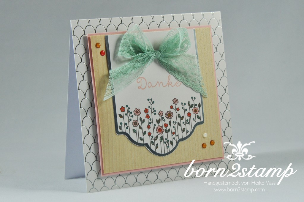 STAMPIN' UP! born2stamp Kartenset Landlust - Cottage greetings card kit
