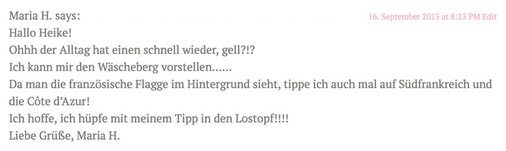 Gewinner born2stamp Urlaubsgewinnspiel 2015