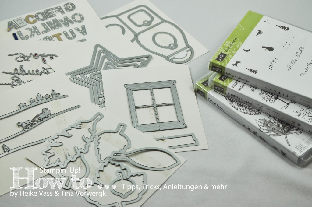 How to... Stempel zu Framelits