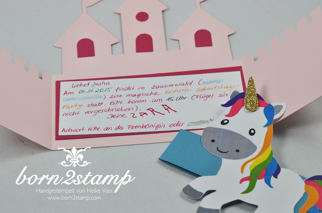 Unicorn Invitation was luxury invitation layout