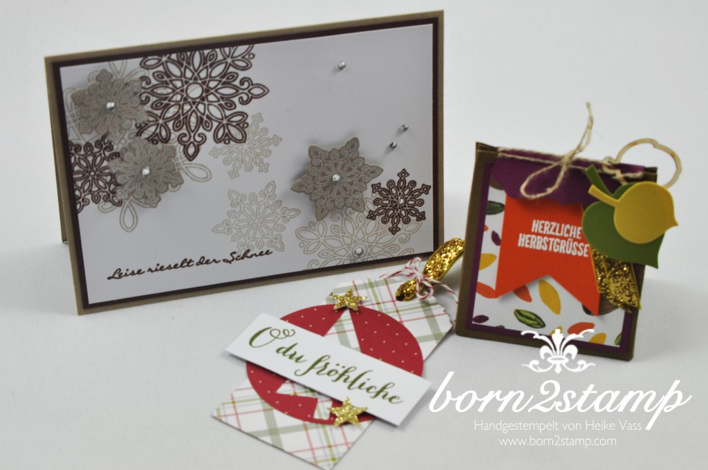 born2stamp STAMPIN' UP! Workshop Doris Wasserburg