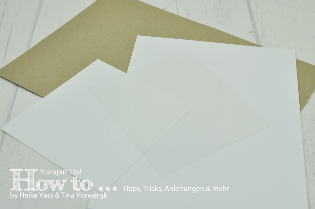How to... STAMPIN' UP! - born2stamp - Magic Card
