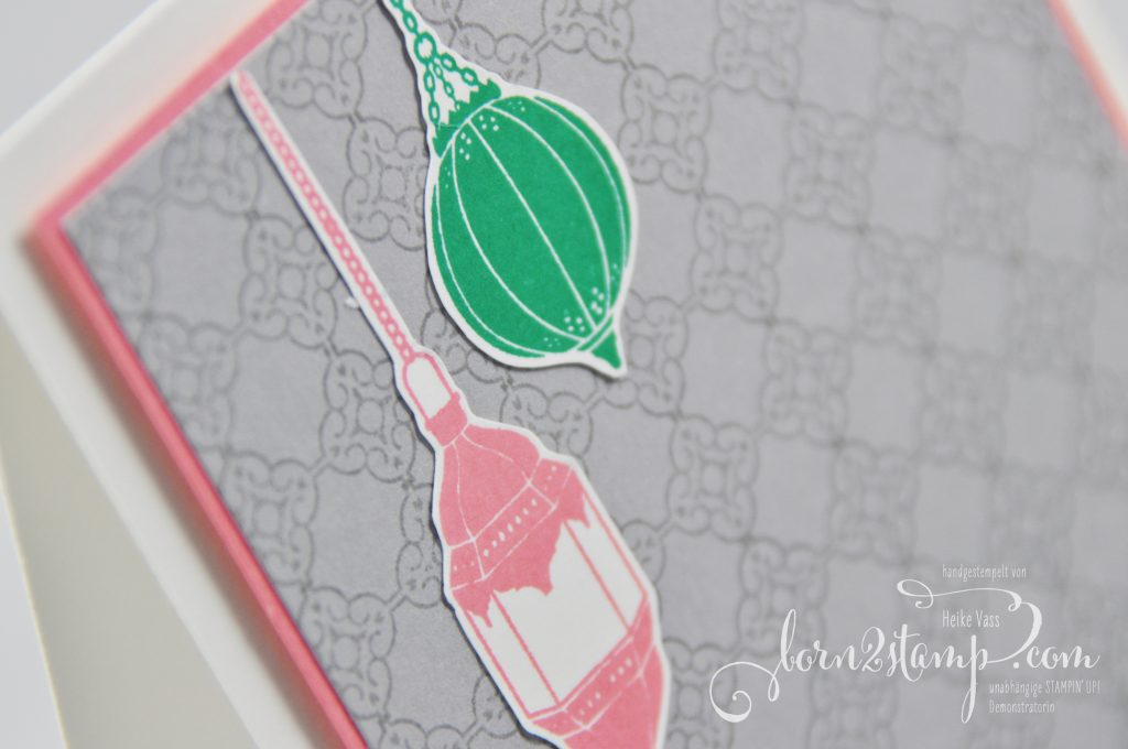 born2stamp STAMPIN' UP! Grusskarte - Moroccan Nights - Designer Grusselemente