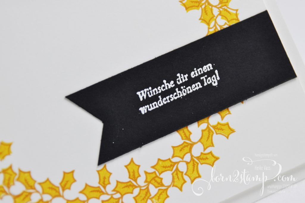 born2stamp STAMPIN' UP! - IN{K}SPIRE_me - Adventsgruen - Besondere Gruesse
