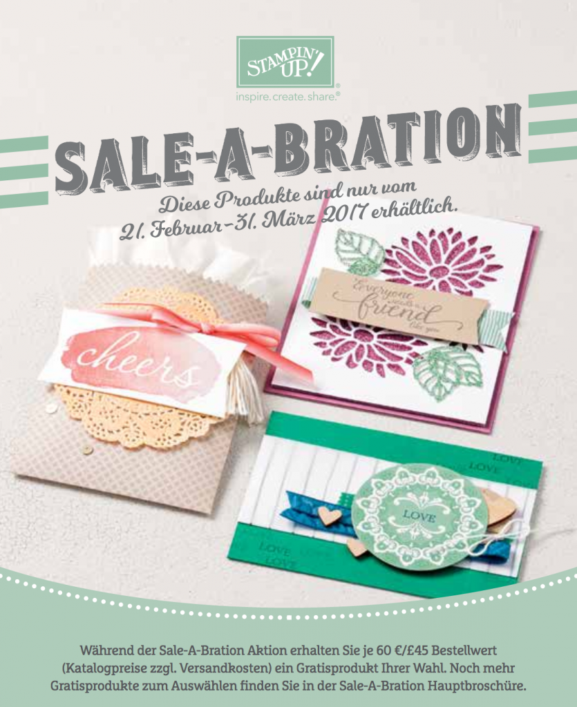 Sale-a-bration 2017 die Zweite