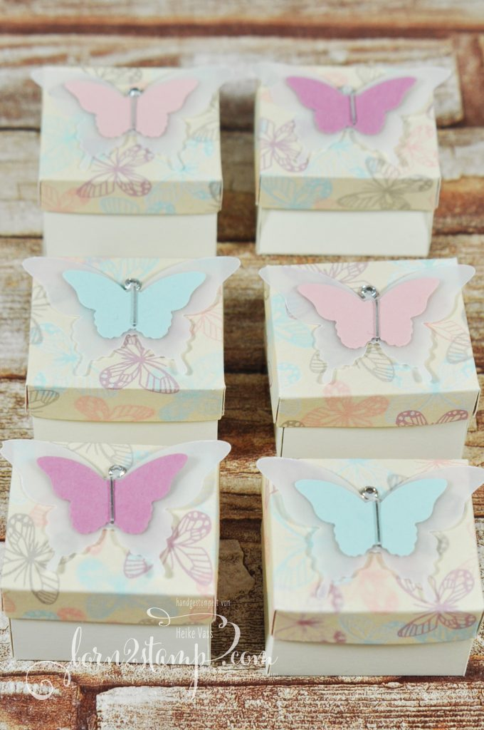 born2stamp STAMPIN' UP! Goodies - DSP Zum Verlieben - Stanze Eleganter Schmetterling - Stanze Mini-Schmetterling