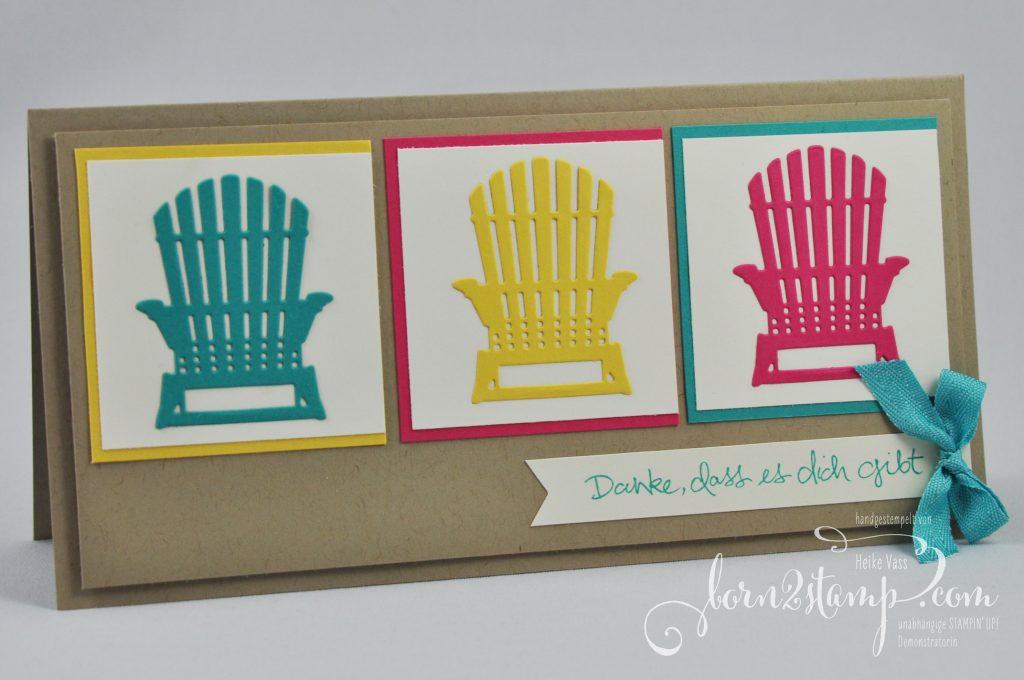born2stamp STAMPIN' UP! INKSPIRE_me - Dankeskarte - Jubiläum - Jahr voller Farben - Baum der Freundschaft