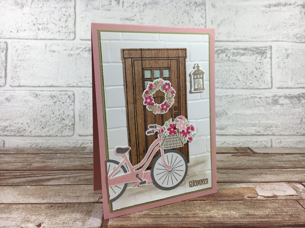 born2stamp STAMPIN' UP! IN{K}SPIRATION week - Wie zu Hause - Bike Ride - DSP Holzdekor
