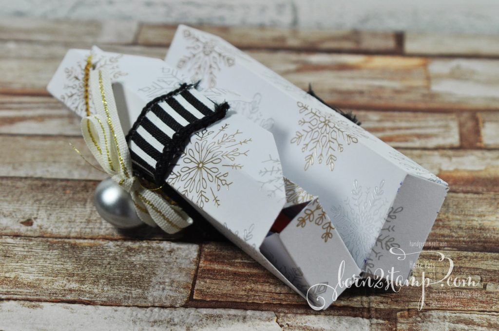 born2stamp STAMPIN' UP! Workshop Box - DSP Winterfreuden - Mini Christbaumkugeln