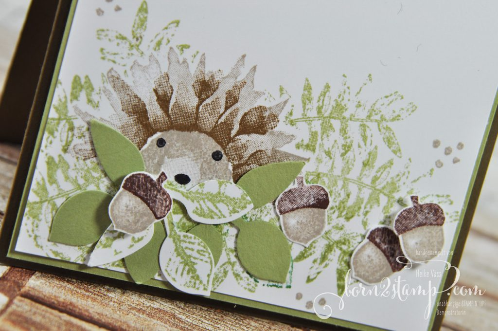 born2stamp STAMPIN' UP! Workshop Herbst - Herbstanfang - Blaetterzweig